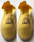 Yellow Kids Espadrilles