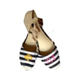 Wedge Blue  Stripe  Espadrilles