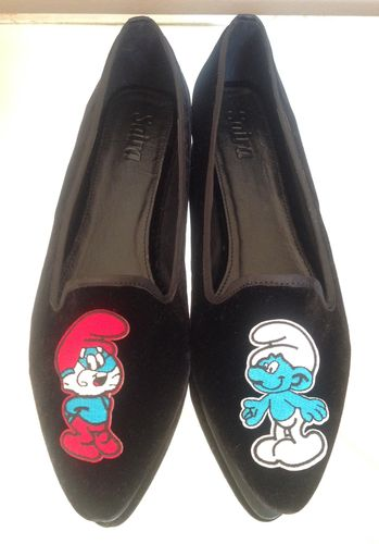 Smurf Slippers